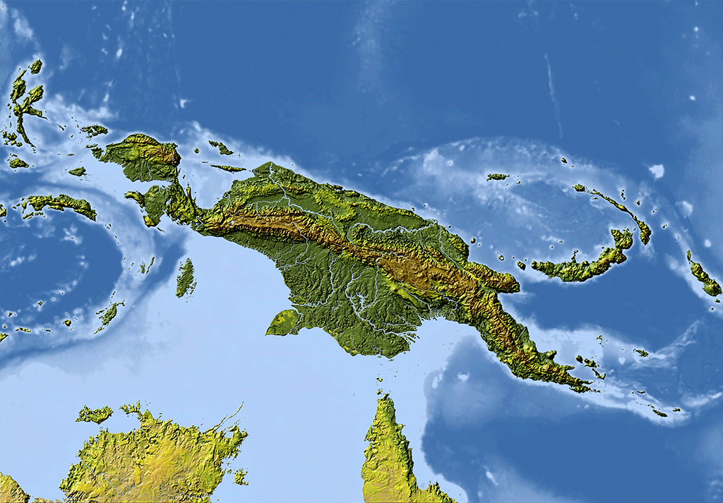 New Guinea and Pacific Islands