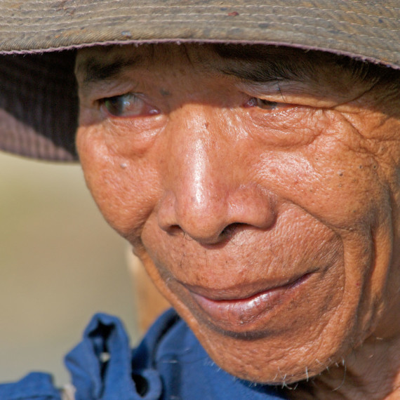 Vietnamese farmer
